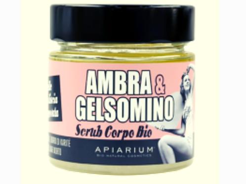Scrub Corpo Bio Ambra e Gelsomino - 270 gr.