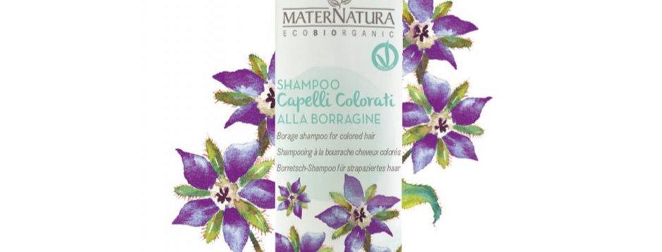 Shampoo alla Borragine per capelli trattati - 250 ml