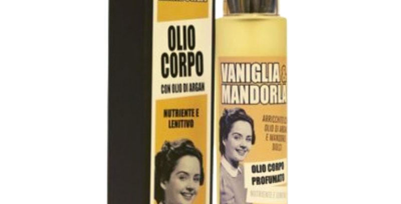 Olio Corpo Profumato Vaniglia e Mandorla - 100 ml