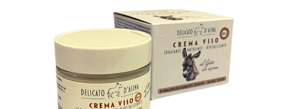 Crema Viso Bio al Latte d'Asina 50 ml