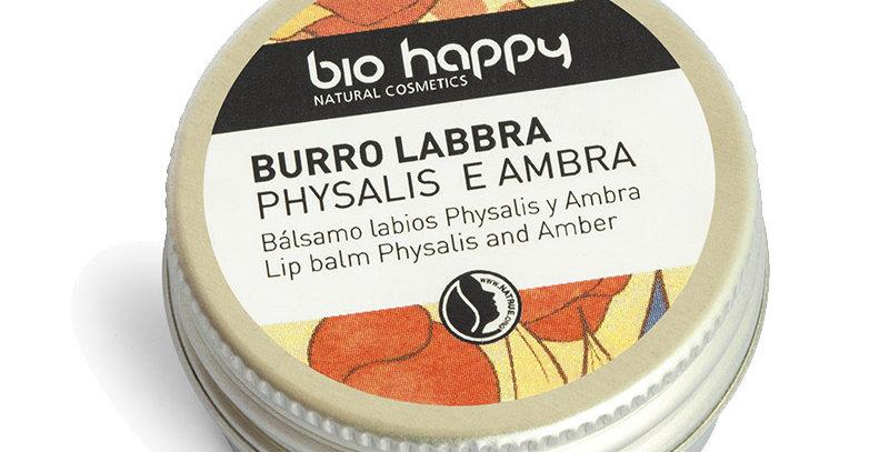 Burro Labbra Physalis e Ambra