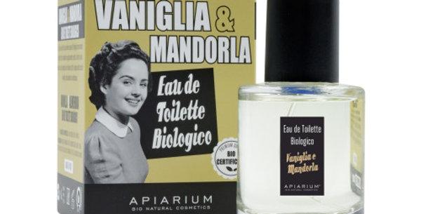 Eau de Toilette Biologico - Vaniglia e Mandorla