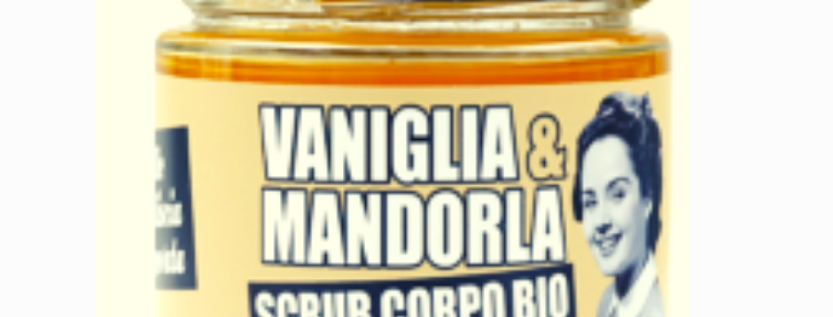 Scrub Corpo Bio Vaniglia e Mandorla - 270 gr