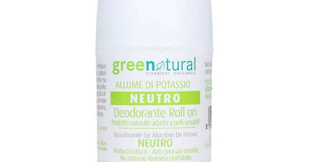 Deodorante Roll on all'Allume di Potassio - Neutro