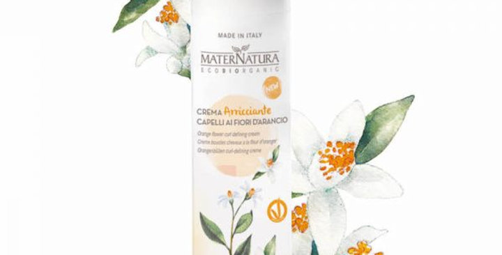 Crema Arricciante Capelli ai Fiori d'Arancio - 100 ml