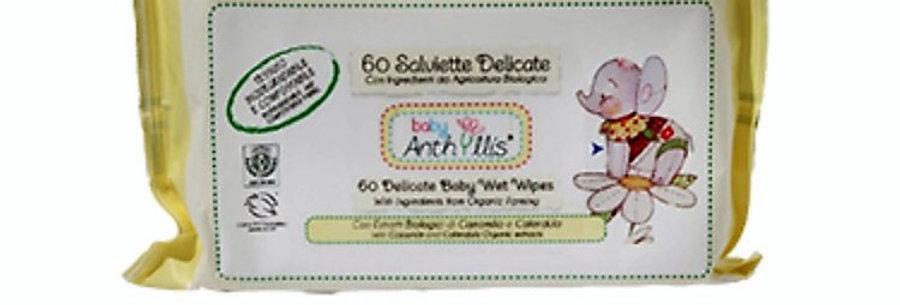 60 Salviette Delicate