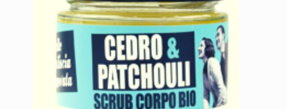 Scrub Corpo Bio Cedro e Patchiouli - 270 gr