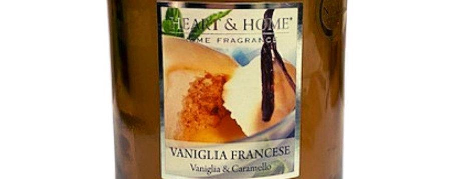 Candela in cera di soia - Vaniglia Francese - 340 gr.