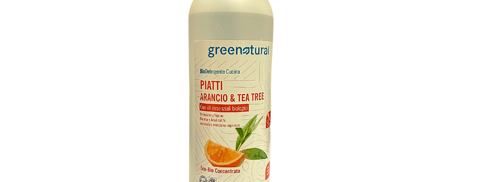 Detergente Lavapiatti Bio Arancio e Tea Tree - 500 ml