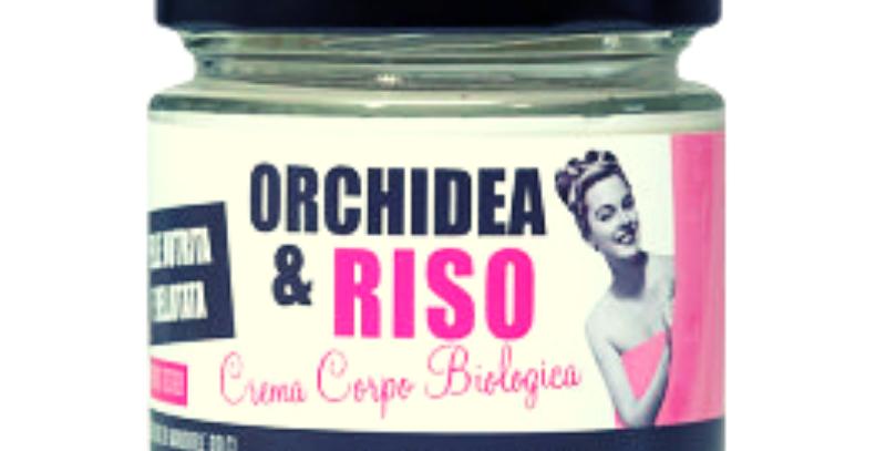 Crema Corpo Bio Orchidea e Riso - 200 ml