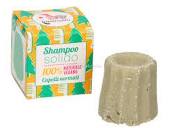 Shampoo solido Bio per capelli normali