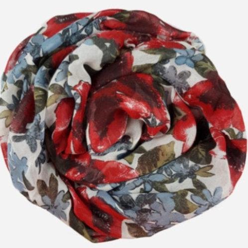 Foulard in fibra d'Eucalipto - Poppy