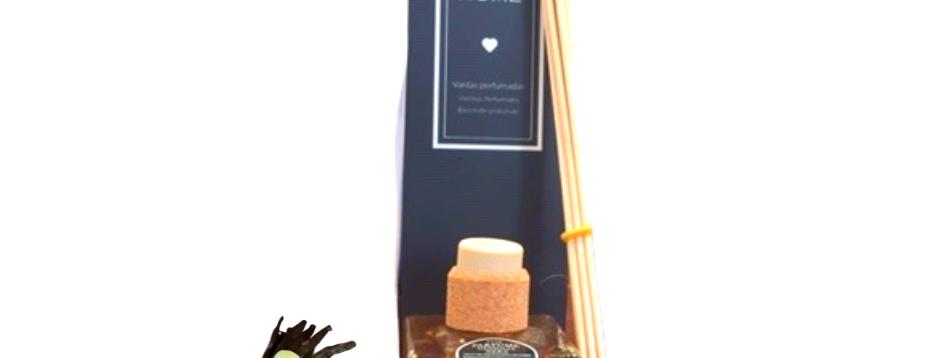 Diffusore Bastoncini Vaniglia Nera - 110 ml