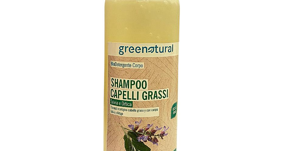 Shampoo Capelli Grassi Salvia e Ortica - 500 ml