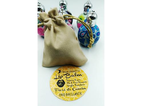 Balsamo Labbra BIO - Fiori di Cancun - Oro Brillante