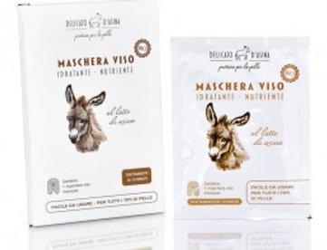 Maschera Viso Bio - Latte d'asina