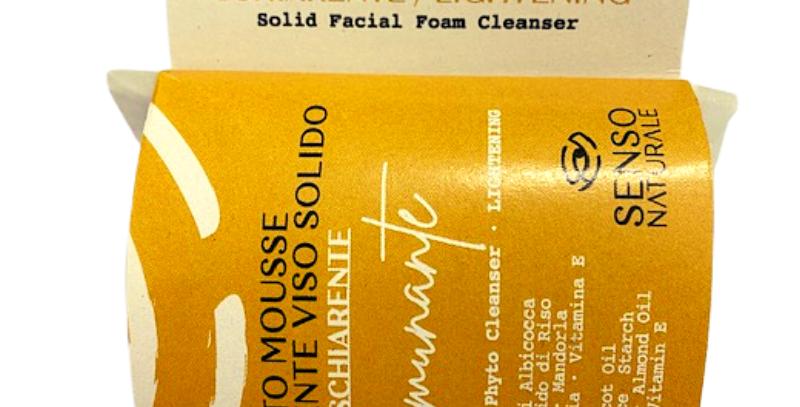 Detergente Solido Mousse Viso Schiarente