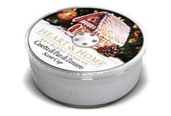 Candela Scent Cup - Casetta Pan di Zenzero