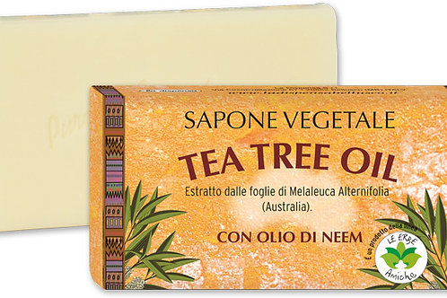 Sapone Tea Tree Oil 100gr.