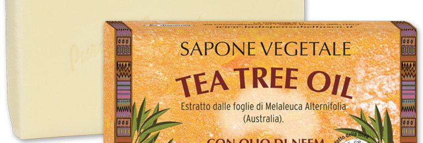 Sapone Tea Tree Oil 100gr.