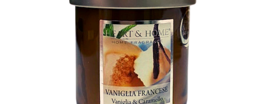 Candela in cera di soia - Vaniglia Francese - 115 gr.