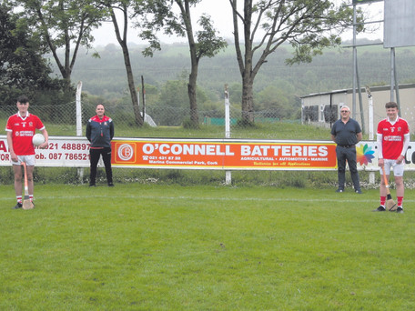O'Connell Batteries Sponsors Ballygarvan GAA U15 Jerseys