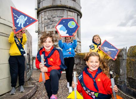 Carrigaline Girls Help Launch Space Programme