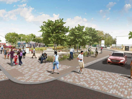 """""""A vibrant town centre is one full of life, not cars"""" - County Development Plan Review"""