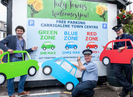 Carrigaline's New Parking System To Be Supported