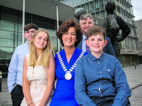 Cllr. Gillian Coughlan Elected As Mayor Of The County Of Cork