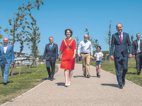 Haulbowline Island Recreational Amenity Officially Opened