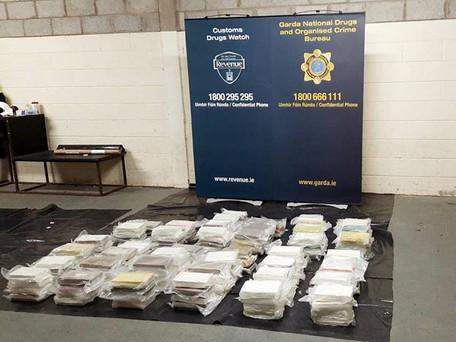 €12 Million Seizure Of Cocaine In Ringaskiddy