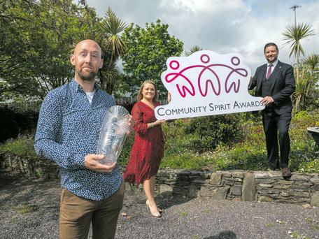 Ringaskiddy Local Hero Wins The First Ever Community Spirit Award