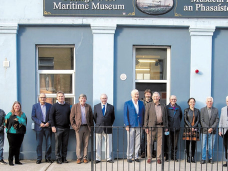 Dockyard Exhibition Opens At Passage West Museum