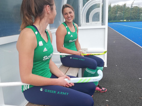 Carrigaline Company Queen B Athletics Sponsor Irish Hockey Team