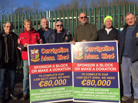 Help Finish The Job At Carrigaline Men's Shed