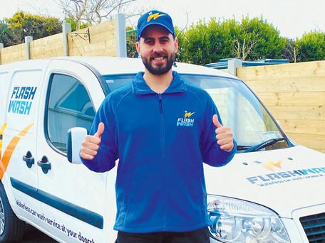 Flash Wash: Palestinian Man Ziad Launches Car Cleaning Business
