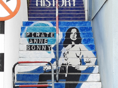 Pirate Anne Bonny Returns to her hometown of Kinsale