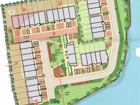 Permission For Housing on Carrigaline's Old Boatyard Site