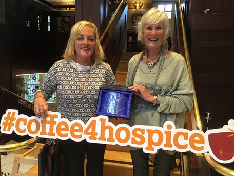 Avril Smith Coffee Fundraiser Receives Award