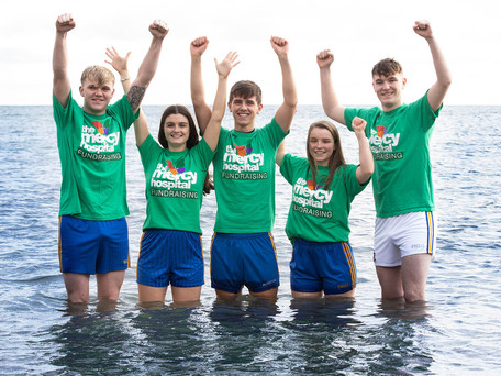Christmas Day Swim In Memory Of Danny Crowley