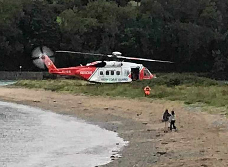 Teenagers Rescue Man In Fountainstown