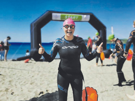 Kinsale Swimmer Joins Elite Group