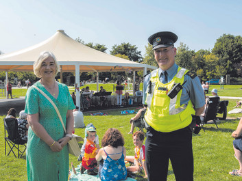 First Event Held At Carrigaline's New Bandstand
