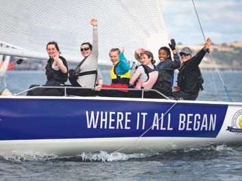 Irish Sailing Women At The Helm, Crosshaven