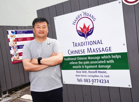 Harry Huang Traditional Chinese Massage Opens In Carrigaline