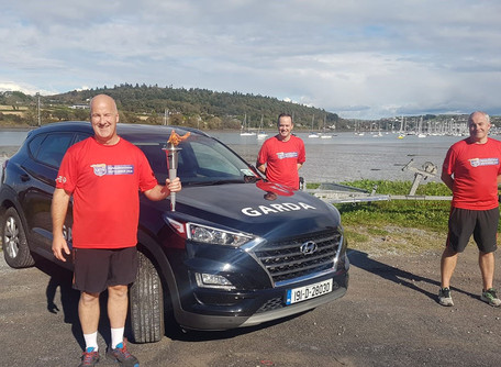 Carrigaline's Garda Stephen Cleary Steps Up To The Challenge