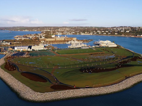 Haulbowline Public Park on Course for New Year Opening