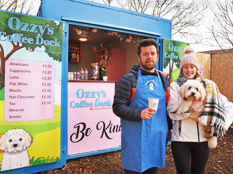 Ozzy's Coffee Dock Opens In Garryduff