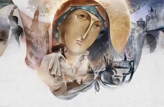 Icon painting. Kiev